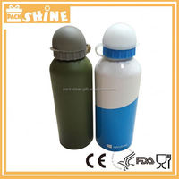 Travel Aluminium Customized Leak Proof Aluminium Bottle For Drinking Water