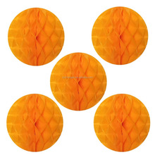 "12"" honeycomb tissue paper ball decoration"