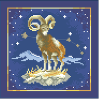 cross stitch sets cross stitch kits embroidery kit constellation Aries