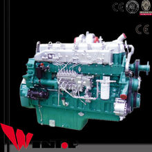 6 cylinders strong power lower emission diesel engine