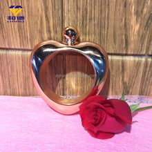 New products stainless steel heart-shaped bracelet flask