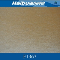 PU vegetable tanned leather