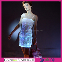 LED new products beautiful short evening gowns