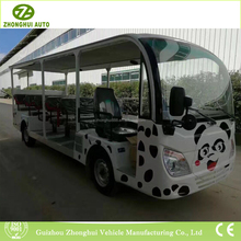 Convertible customized cartoon electric sightseeing vehicle