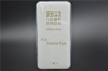 Ultra Thin 0.3mm Clear Soft TPU Cover Case For HTC One M8 Eye