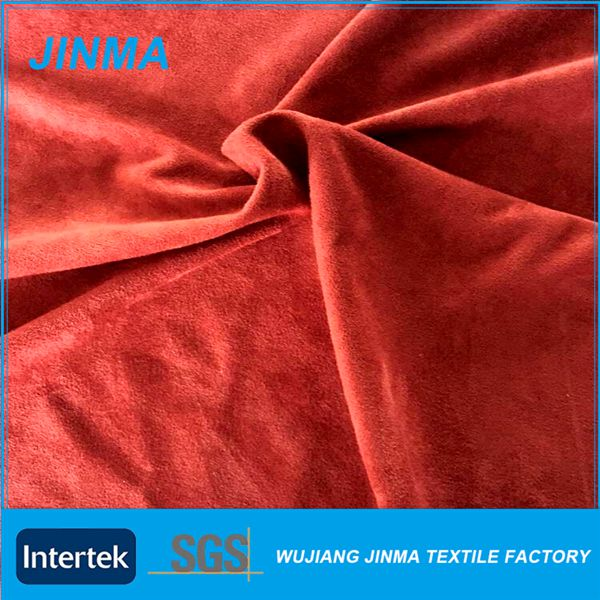 Factory sale micro suede fabric
