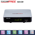 Factory direct sale Tocomfree I928ACM 1080P full hd satellite TV receiver work for south America