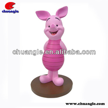 Cartoon pig, pink pigs, decorative pigs