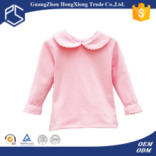 Winter multi color long sleeve blank baby t-shirts wholesale