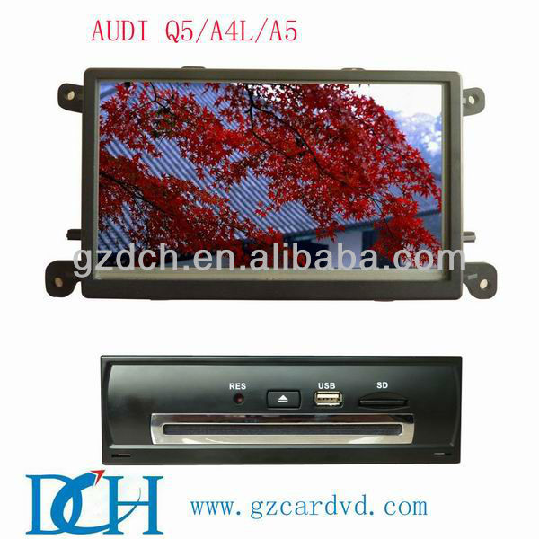 oem car dvd player for AUDI Q5/A4L/A5 WS-9213