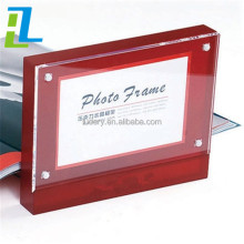 A4 A3 A5 Slant Clear Acrylic Photo Frame, Wall Mounted Acrylic Photo Frames, Acrylic Wedding Photo Frame