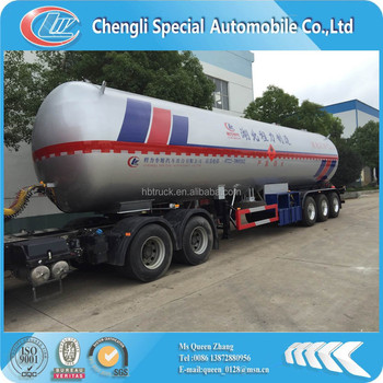 CLW 3-axis lpg delivery trailer