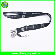 Cheap custom lanyard keychains/cell phone lanyard/id card holder ribbon