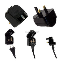 Best Selling Product EU Plug to UK or UK to EU Travel Adapter Converter 2 Pin AC Power Plug Adaptor