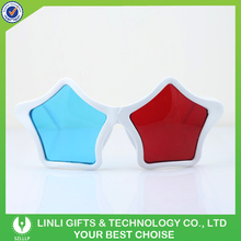 Star Shape 3D Fancy Party Glasses For Promotion