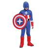 Captain America Cosplay Kids Carnival Costume Wholesale TC015