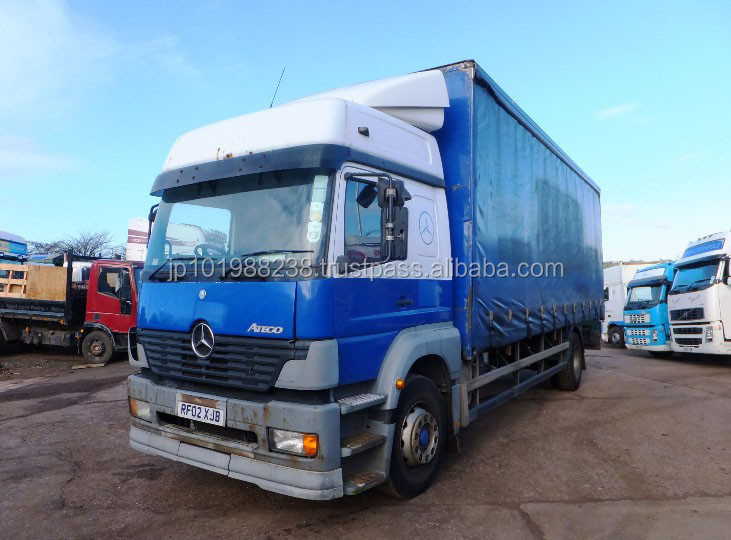 USED TRUCKS - MERCEDES ATEGO 1823 SLP (RHD 1801134)