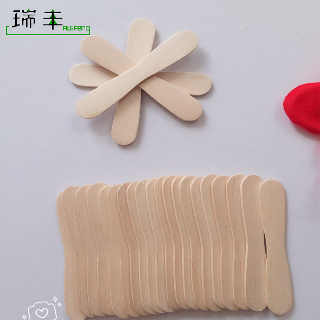 Grade A wholesale wooden biodegradable ice cream spoon