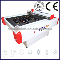 IECHO BK2516 Car Mats and Carpets and Logo Floor Rug Automatic CNC Cutting Machine with Electric Oscillating Blade