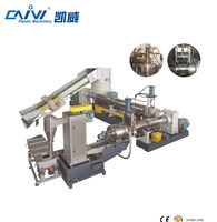 Hot sale recycled plastic film bag making pellet machine line / PP PE granulating production line