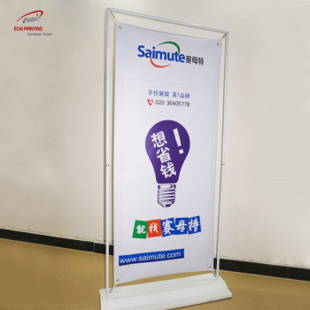 Hot selling standard Door Shape Stand Display Retractable Banner Stands