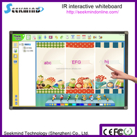 10 finger touch infrared smartboard interactive whiteboard
