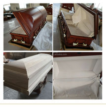 USA Style Wood Coffin Casket New Style Wood Coffin