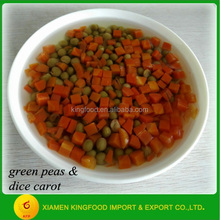 Factory price cutting vegetables canned chinese vegetables