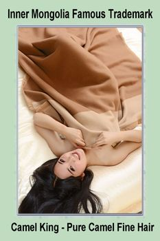 quality baby camel wool blanket