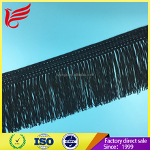 2017 Rayon chainette stretch long tassel fringe for dancewear/dresses
