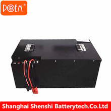 High density energy 25.6v 50ah lithium ion toyota forklift battery pack
