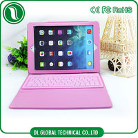 China factory directly sale waterproof silione bluetooth keyboard case for ipad air cover