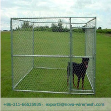 High quality chain link fence pet cages for dog