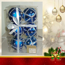 Coastal Ornaments Christmas Balls - Iridescent Ornament, Tear Drop Ornament