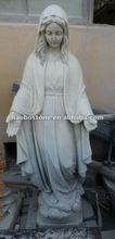 White Marble Angel Carving/Religion Statue