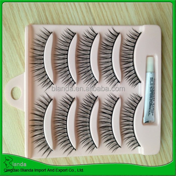 5pairs own brand false eyelashes wholesale with fast delivery
