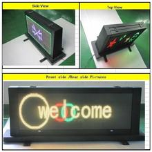 smart devices cheap indoor full color led digital display led taxi roof sign