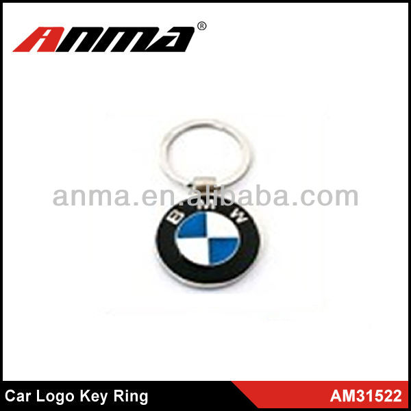 metal car logo key chain/car logo keychain/car logo key ring
