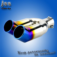 Dual exhaust muffler tips for hks rx8 japanese auto spare parts