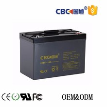 UPS solar system rechargeable deep cycle lead acid battery 12v100ah