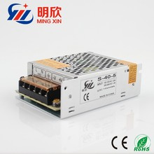 constant current sitching mode power supply 5v 8a 40w led driver ,5v dc power supply