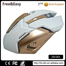 6D optical 1.5m briaded adjustable DPI gaming mouse for computer games
