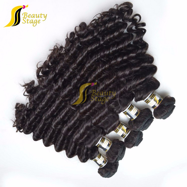 Top quality hot selling natural color virgin indian curly hair,12-36 inch in stock