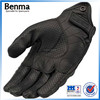 Male full finger real leather motorcycle racing glove