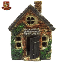 Custom made wholesales decorative resin fairy house