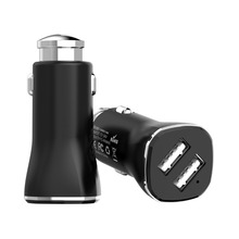 Multifunction 2.4A Dual USB Safety Vehicle Car Charger Car Cigarette Power Adapter With Emergency Escape Life Hammer