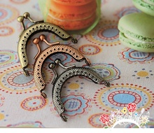 2015 New many colors of Round Shape metal coin screw Purse Frame