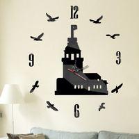 wooden clock kits oversized wall clock alibaba design home