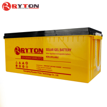 RYTON POWER 12v 200ah dry cell rechargeable battery with T terminal for 3kw solar home system