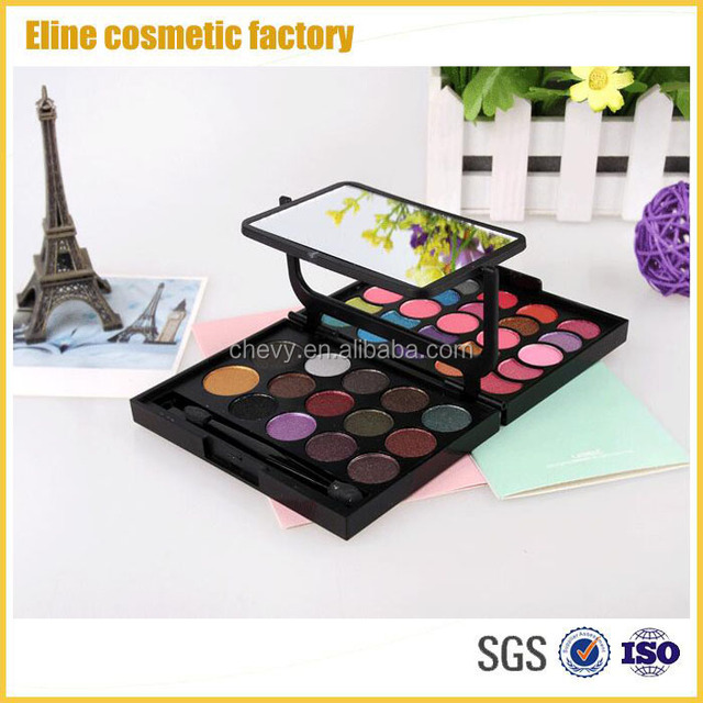 European Hot Selling Eyeshadow Palette With Mirror Eye makeup Sets Factory Sale Directly